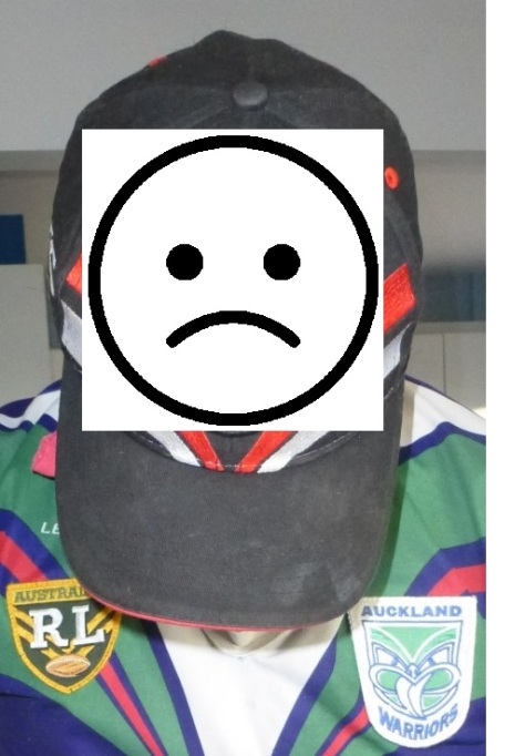 Sad NRL Warrior
